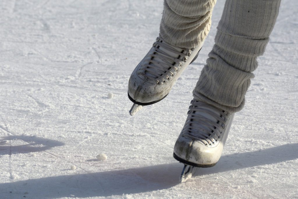 Wie funktioniert Eislaufen?